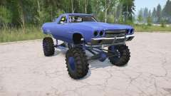 Chevrolet El Camino 1970 lifted pour MudRunner
