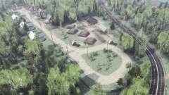 Das Dorf Urnyak für Spin Tires