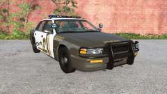 Gavril Grand Marshall Mano County Sheriff pour BeamNG Drive