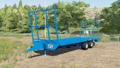 Robo bale trailer v1.1 pour Farming Simulator 2017