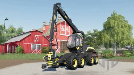 Ponsse ScorpionKing with the small difference für Farming Simulator 2017