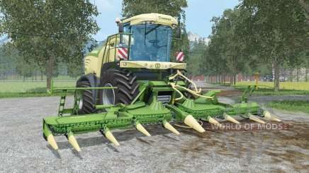 Krone BiG X 580 & EasyCollect 750 pour Farming Simulator 2015