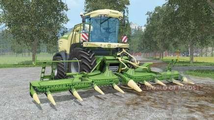 Krone BiG X 580 & EasyCollect 750 für Farming Simulator 2015