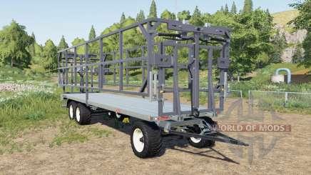 Fliegl DPW 210 BL pour Farming Simulator 2017