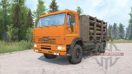 KamAZ-65115 für MudRunner
