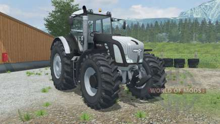 Fendt 936 Vario Black Beauty Silver für Farming Simulator 2013