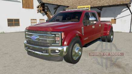 Ford F-450 Super Duty Platinum Crew Ƈab 2017 für Farming Simulator 2017