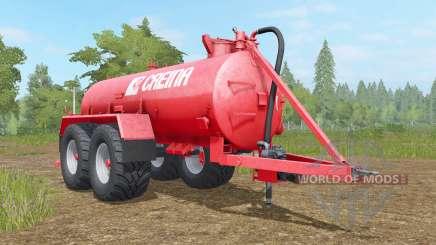 Creina CVC 14000 VƬ pour Farming Simulator 2017