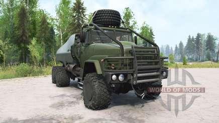 KrAZ-260 dunkel-Grau-grün für MudRunner