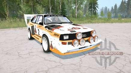 Audi Sport quattro S1 Pikes Peak 1987 für MudRunner