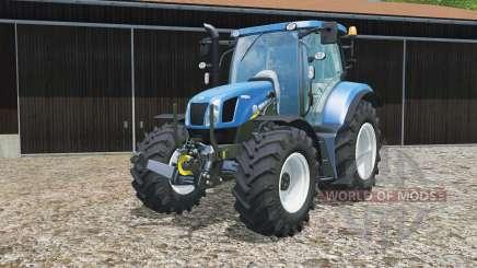 New Holland T6.160 replaceable tires für Farming Simulator 2015