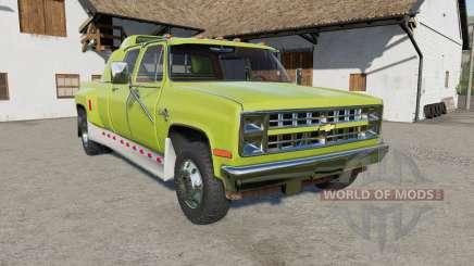 Chevrolet K30 Silverado Crew Cab Dually 1986 für Farming Simulator 2017