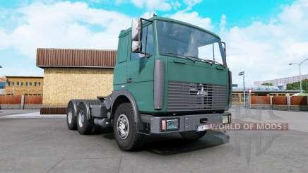 MAZ-6422 dark cyan für Euro Truck Simulator 2