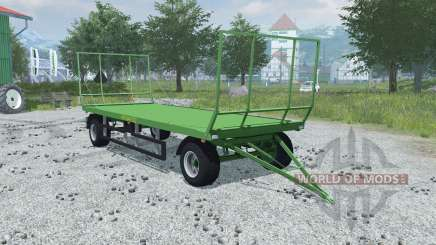 Pronar T022 folding front and rear wall pour Farming Simulator 2013