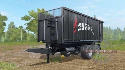 Fliegl TMK 266 Noir Panteᵲ pour Farming Simulator 2017