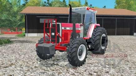 Massey Fergusoᶇ 290 pour Farming Simulator 2015