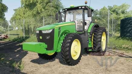 John Deere 8245Ɍ-8400R für Farming Simulator 2017