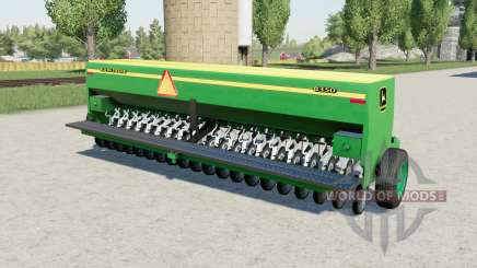 Jean Deerᶒ 8350 pour Farming Simulator 2017