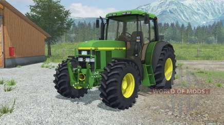 John Deere 6610 More Realistic pour Farming Simulator 2013
