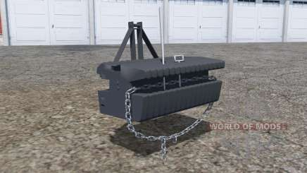 Front weight with movable chain für Farming Simulator 2013