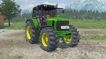 John Deere 6330 Premium front loader pour Farming Simulator 2013
