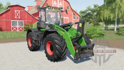 New Holland W190D added several tires pour Farming Simulator 2017
