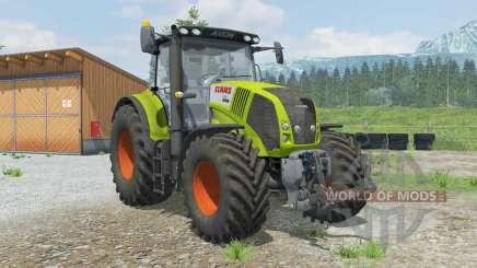 Claas 850 Axiꝍn pour Farming Simulator 2013