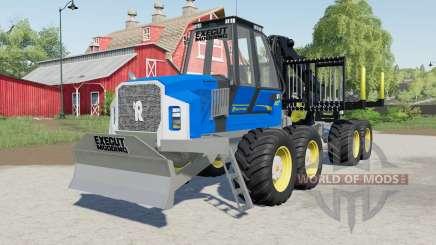 Rottne F20ᴰ für Farming Simulator 2017