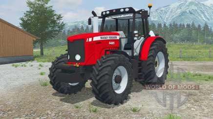 Massey Fergusoꞥ 6485 pour Farming Simulator 2013