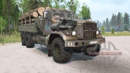 KrAZ-255B im Alter für MudRunner