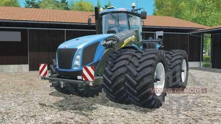 New Holland T9.565 with dynamic twin wheels für Farming Simulator 2015