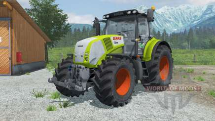 Claas 850 Axioɳ pour Farming Simulator 2013