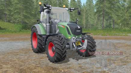 Fendt 500 Vario with all-round lights pour Farming Simulator 2017