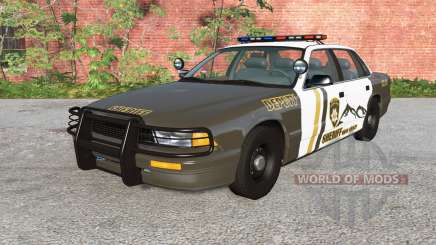 Gavril Grand Marshall Mano County Sheriff v1.1 für BeamNG Drive