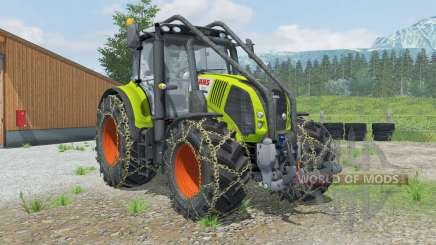 Claas Axion 850 Forest Edition für Farming Simulator 2013