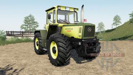 Mercedes-Benz Trac more tire configuration pour Farming Simulator 2017