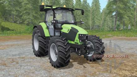 Deutz-Fahr 5110 TTV the choice of wheels pour Farming Simulator 2017