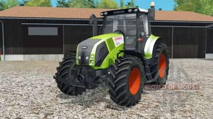 Claas Axioᵰ 820 pour Farming Simulator 2015