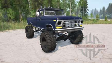 Ford F-150 Regular Cab Styleside 1979 pour MudRunner