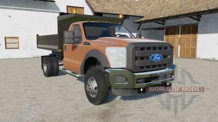 Ford F-550 Dumᵱ für Farming Simulator 2017