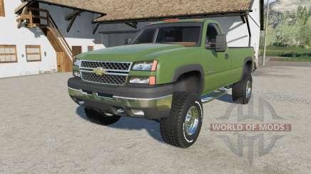 Chevrolet Silverado 2500 HD Regular Cab 2006 für Farming Simulator 2017