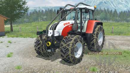 Steyr 6195 CVT Forest Edition pour Farming Simulator 2013