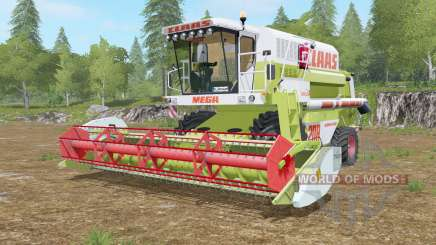 Claas Mega 208 Dominator pour Farming Simulator 2017