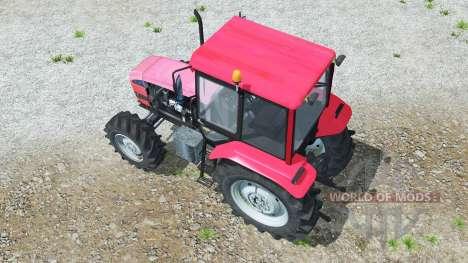 MTZ-1025.3 Беларꭚс pour Farming Simulator 2013