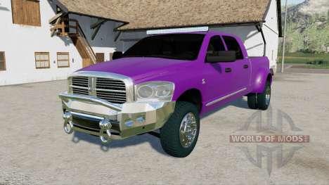 Dodge Ram 3500 Mega Cab 2006 pour Farming Simulator 2017