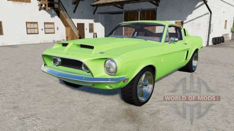 Shelby ԌT500 1968 für Farming Simulator 2017