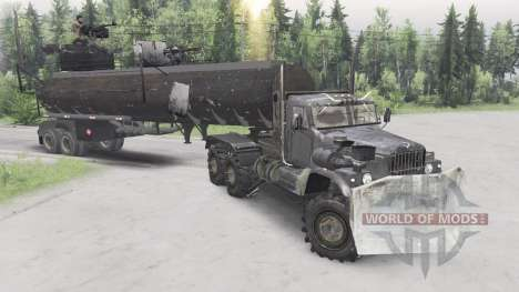 KrAZ-255B Mad Max pour Spin Tires
