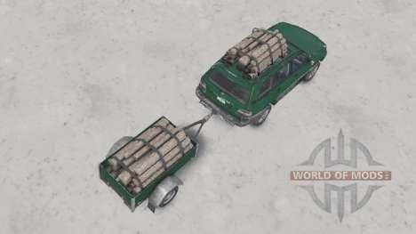Toyota Land Cruiser 100 VX 2005 v1.2 pour Spin Tires