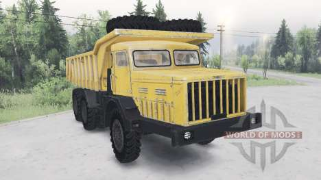 MAZ-530 pour Spin Tires