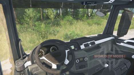 MAN TGS pour Spintires MudRunner